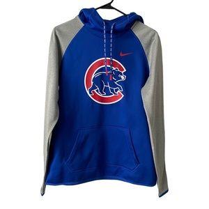 Nike Dri-Fit Cubs Hooded Sweatshirt Medium NWOT